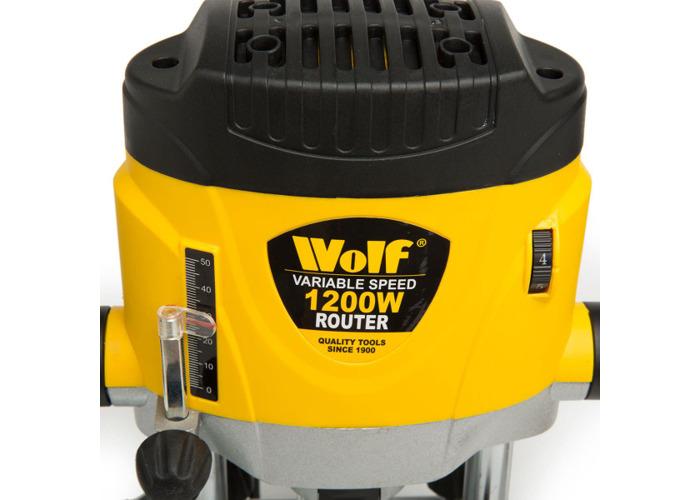 Wolf 1200 Watt Router & Router Table Kit - 2