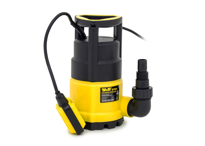 Wolf 250w Submersible Clean Water Pump with 10m Delivery Hose - 2