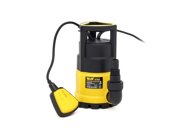 Wolf 250w Submersible Clean Water Pump with 10m Delivery Hose - 1