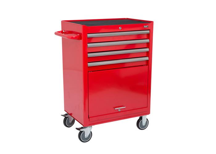 Wolf 4 Drawer & Roller Cabinet Unit - 1