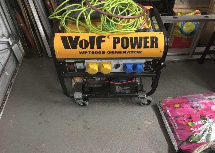 Wolf 7500w petrol Generator  - 1