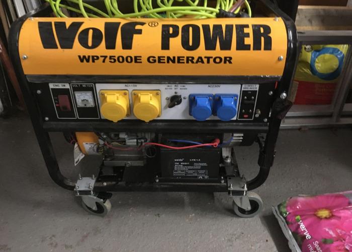 Wolf 7500w petrol Generator  - 2