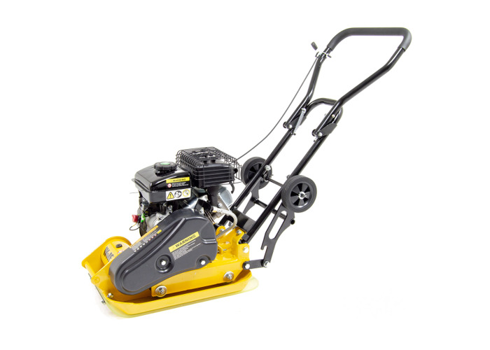 Wolf 8200N Petrol Powered Compactor with Wheels & Paving Pad - 2