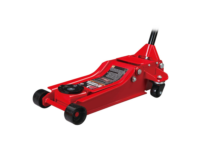 Wolf Big Red 3 TONNE Low Profile Trolley Jack w/ Fast Rising Dual Pistons - 1