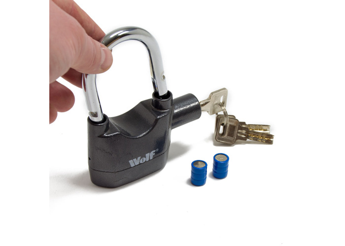 Wolf High Security Alarmed Padlock - 1
