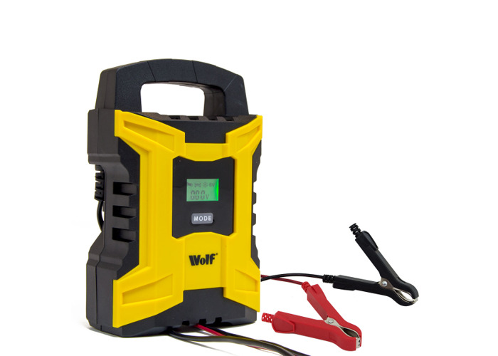 Wolf Intelligent 2A/10A 6v & 12v Battery Charger WBC180 - 1