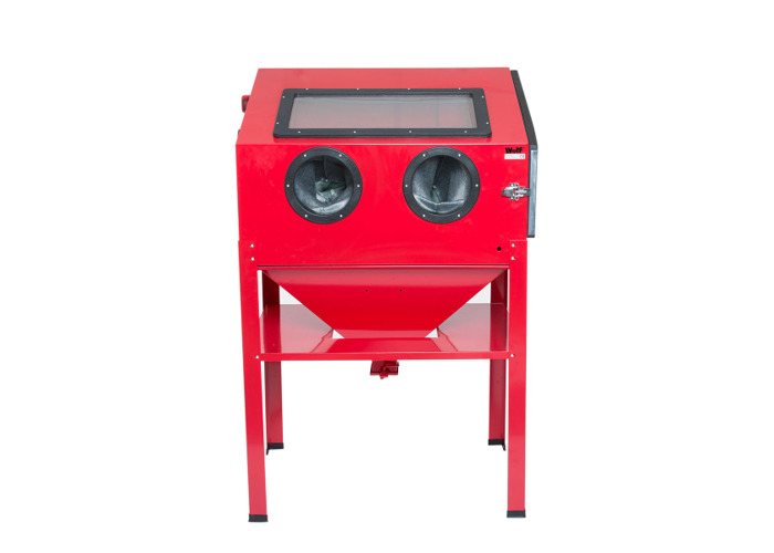 Wolf Large Standing Blast Cabinet with Easy access side door - 1