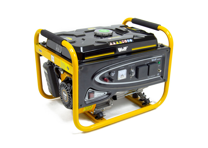 Wolf Power 3.12KVA Heavy Duty Petrol Powered Generator - 1