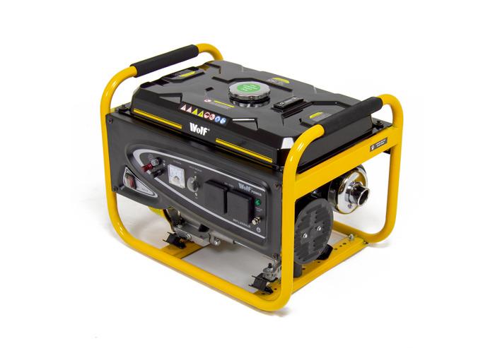 Wolf Power 3.12KVA Heavy Duty Petrol Powered Generator - 2