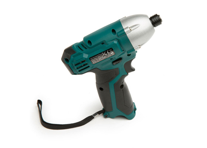 Wolf Sapphire 12v Drill Driver with Impact Driver, LED Torch, 3 Batteries & Charger - 2