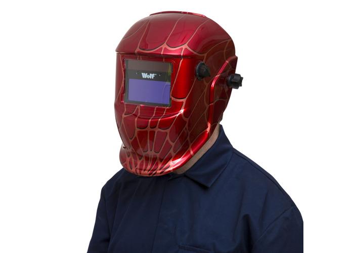 Wolf 'Spider' Welding Auto Darkening Helmet - 1