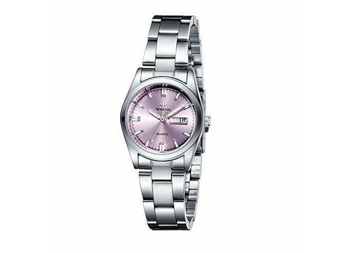 Women Watches- Female-Ladies-<wbr/>Stainless Steel Bracelet-##COM<wbr/>MA## Business- Fashio - 1