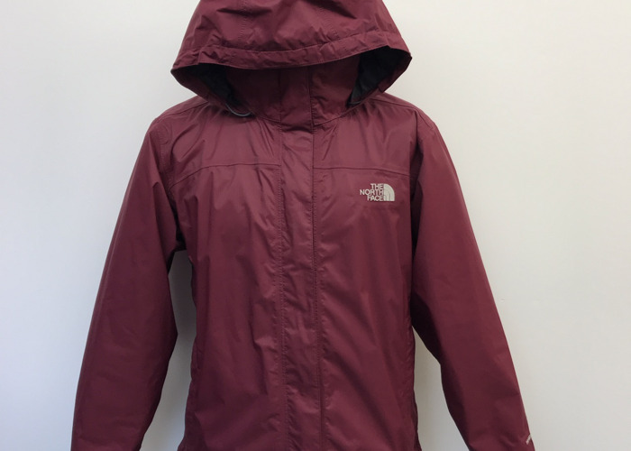 north face long waterproof jacket