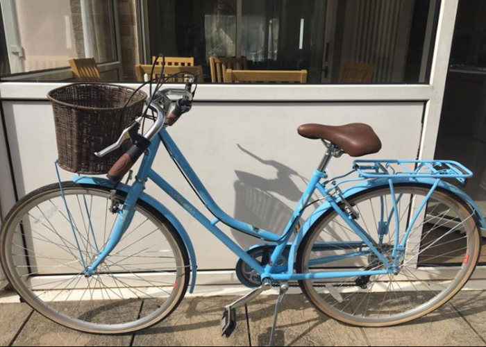 Women's vintage baby Blue bike - 1