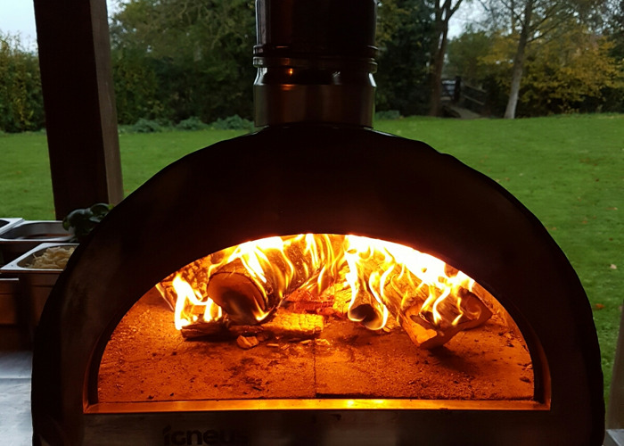 Wood Fire Pizza Oven - 2