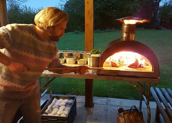 Wood Fire Pizza Oven - 1