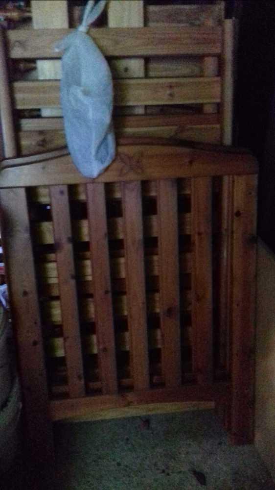Cuna de madera para bebé - 1