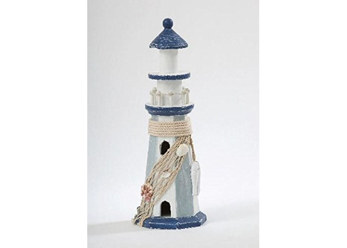 Wooden Lighthouse Decorative Ornament Gift for Sea Lovers - 1