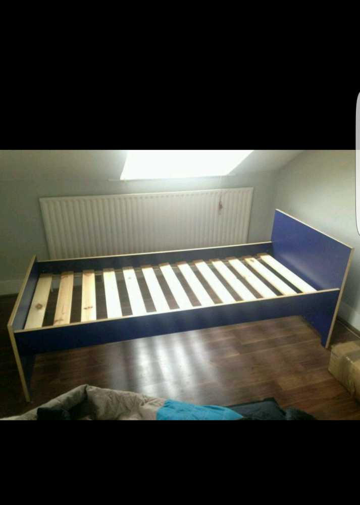 Wooden Single Bed - 1