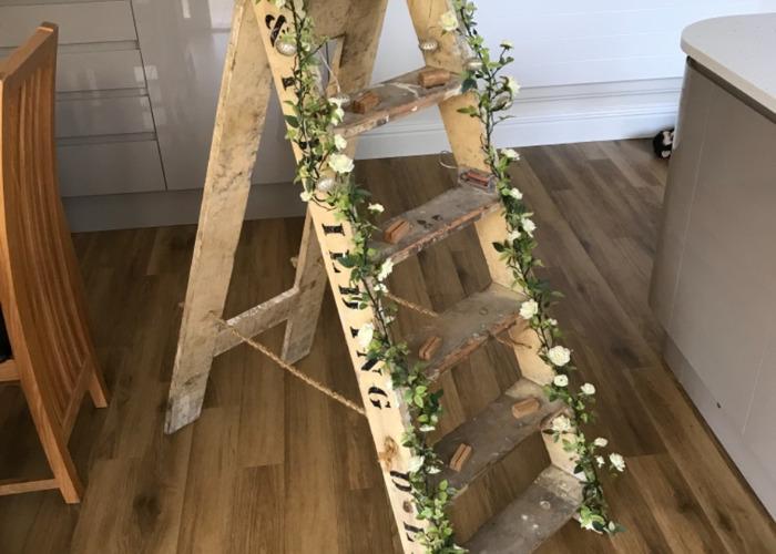 Wooden stepladders  - 2