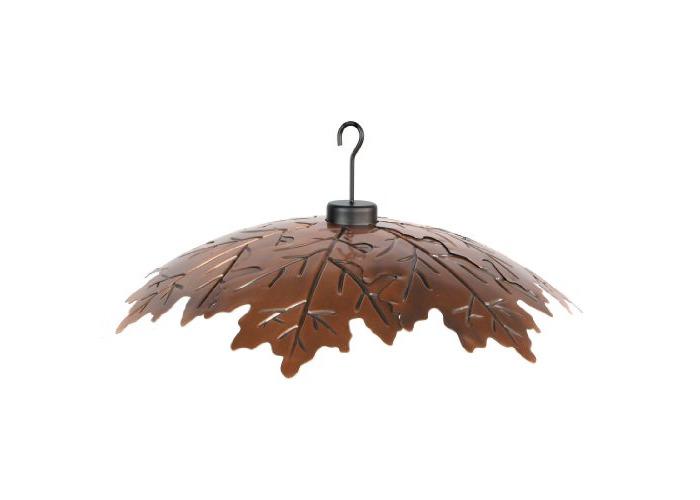 Woodlink Brushed Copper 18 Weather Shield Model COPLEAF18 - 1