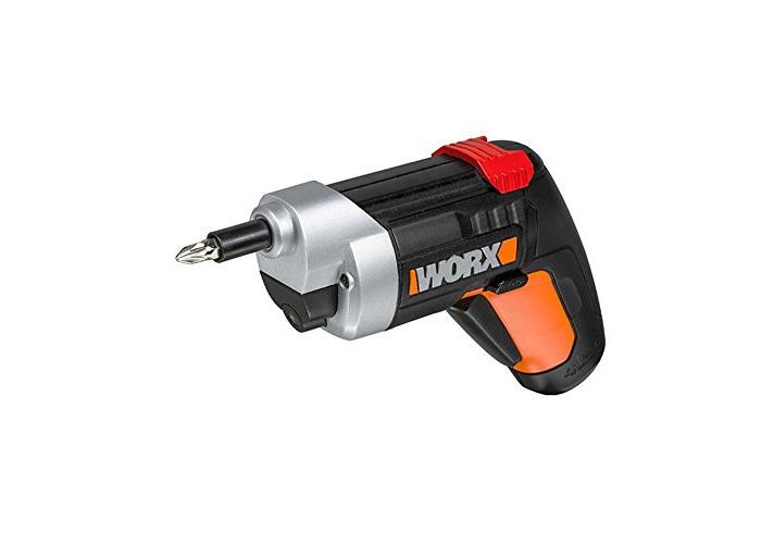 WORX WX252 Extended Reach XTD Cordless Screwdriver, 4 V - 1