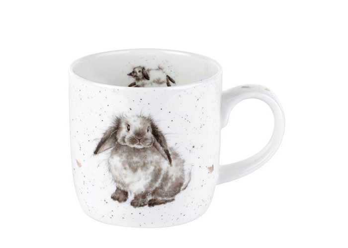 Wrendale by Royal Worcester Rosie Rabbit Single Mug - 1