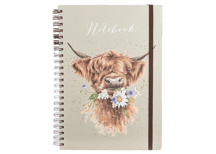Wrendale Daisy Coo Large A4 Notebook - 1