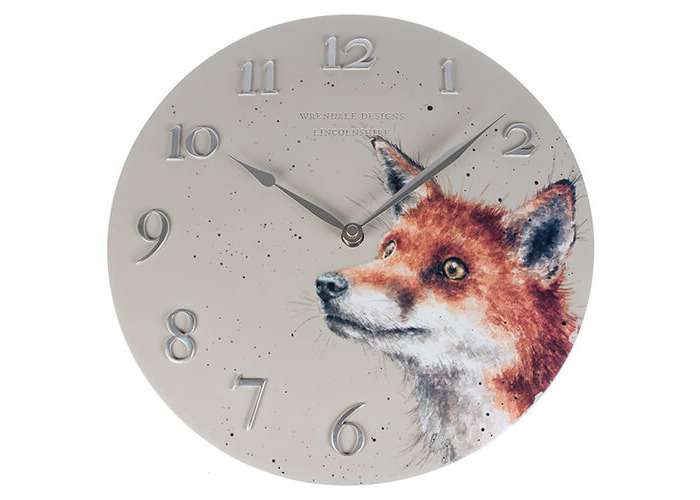 Wrendale Designs Fox Clock - 1