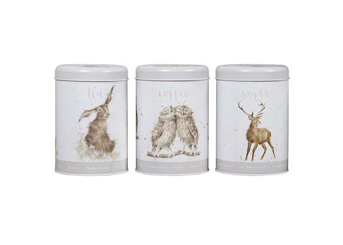Wrendale Designs Tea, Coffee & Sugar Canisters - 1