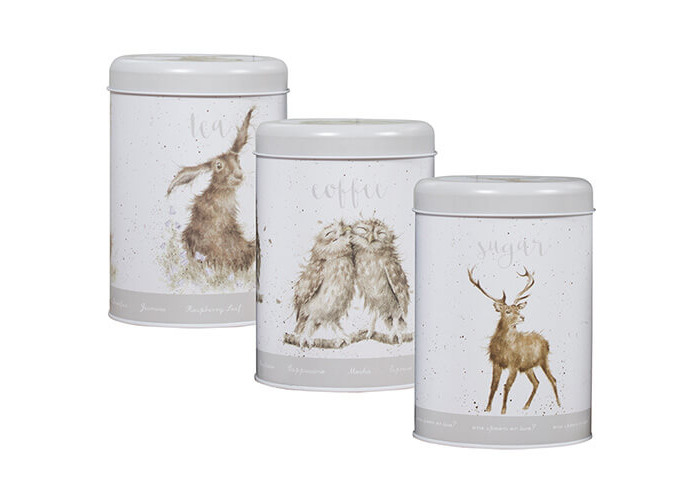 Wrendale Designs Tea, Coffee & Sugar Canisters - 2