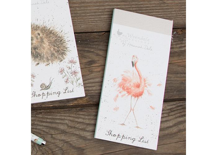 Wrendale Flamingo Shopping Pad - 2
