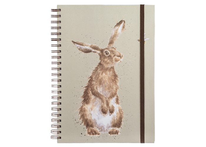 Wrendale Hare and the Bee Large A4 Notebook - 1