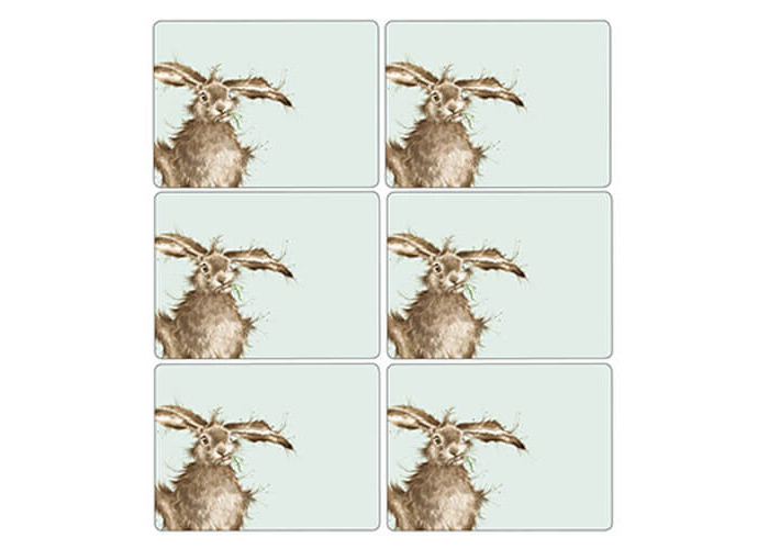 Wrendale Hare Placemats - Set of 6 - 1