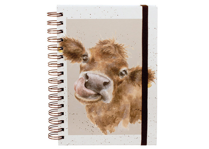Wrendale Mooo Spiral Bound Notebook - 1