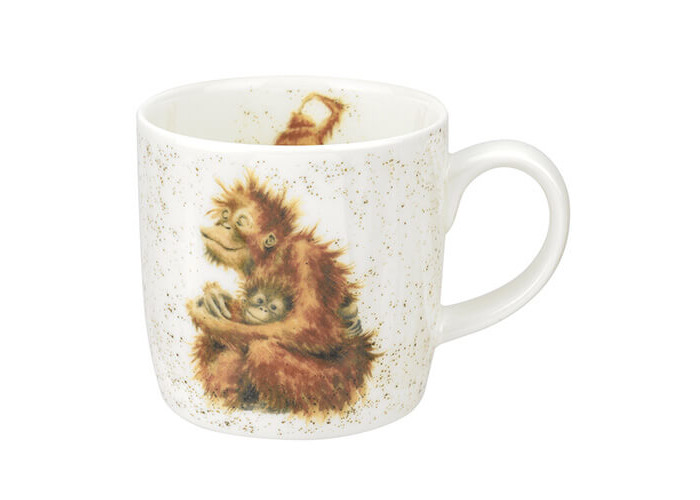 Wrendale Orangutangle Orang-utan Mug - 1