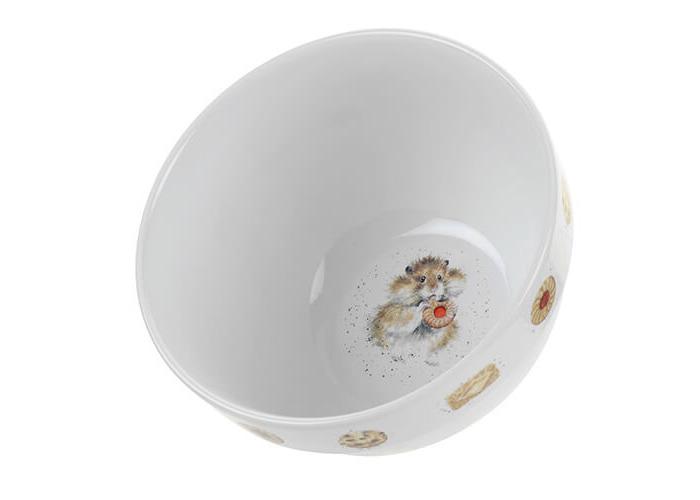 Wrendale Pudding Bowl (Hamster), Bone China, Multi Coloured, 17 x 17 x 10.5 cm - 2