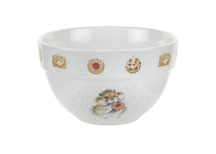 Wrendale Pudding Bowl (Hamster), Bone China, Multi Coloured, 17 x 17 x 10.5 cm - 1