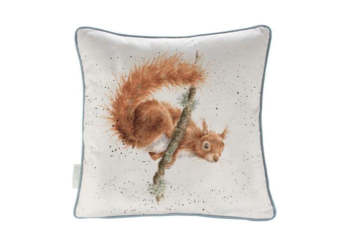 Wrendale The Acrobat Squirrel Cushion - 1