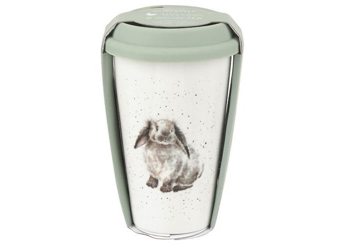 Wrendale Travel Mug (Rabbit), Multi Coloured - 1