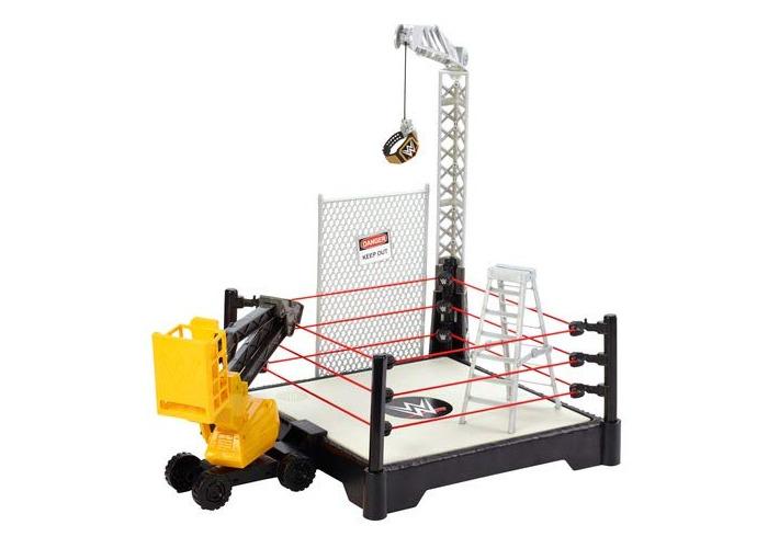 WWE FXG08 Sound Slammers Destruction Zone Playset, Multi-Colour - 1