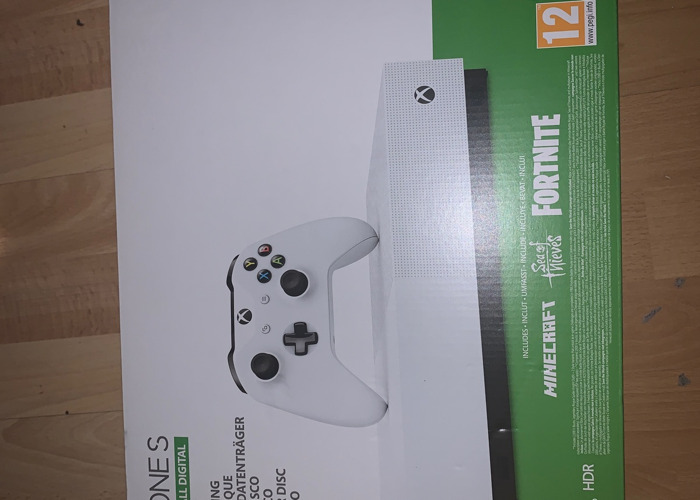 X box one s digital comes with 3 games  - 2