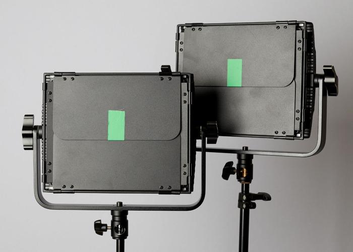 x2 LECO 500B II BI COLOUR LED VIDEO LIGHT PANELS - 2