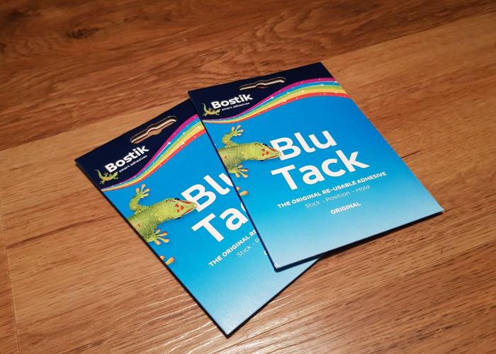 X2 Packs of Original Blu Tack - Bostik - 1
