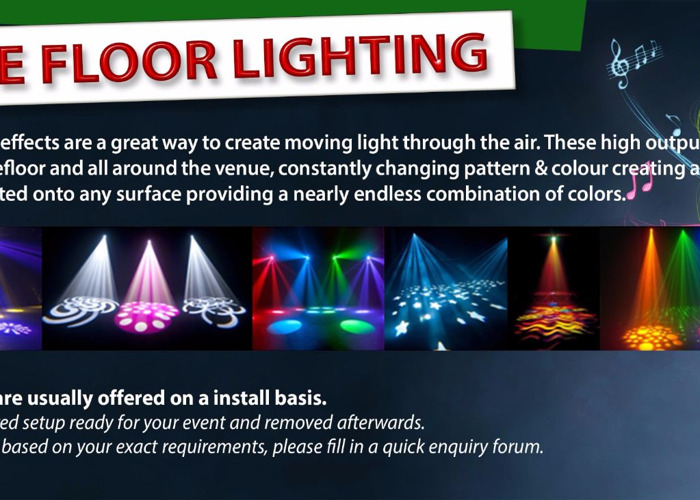 x2 Party LED Lighting - 1