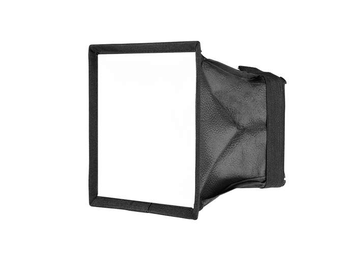X2 Softbox LED Light Diffuser Collapsible - White - 1