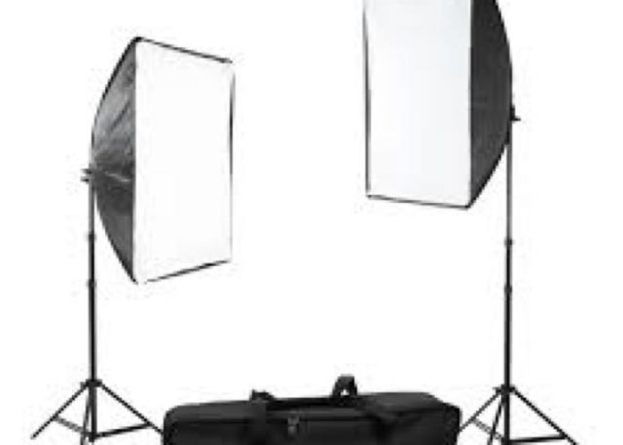 X2 softbox lights  - 2