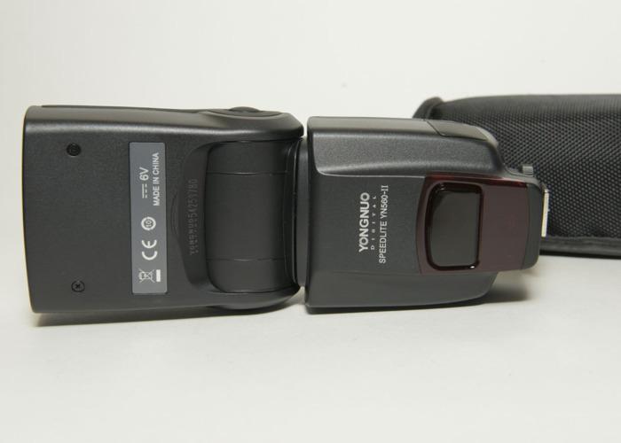 x2Yongnuo YN-560 II Flash with Standard Hot Shoe with Manual - 2