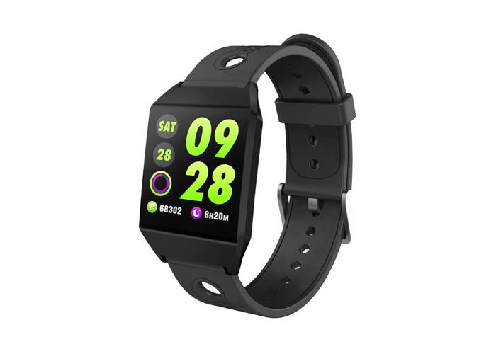 XANES W1 1.3'' IPS Color Screen GPS Smart Watch Waterproof Pedometer Heart Rate Monitor Blood Pressure Smart Bracelet Wristband - 2