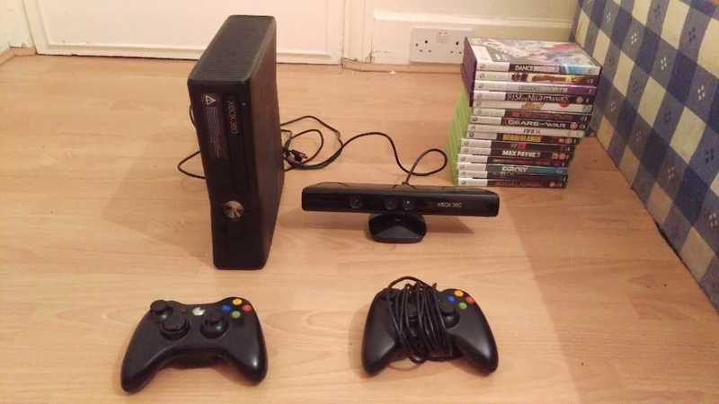 Xbox 360 S + kinect - 1